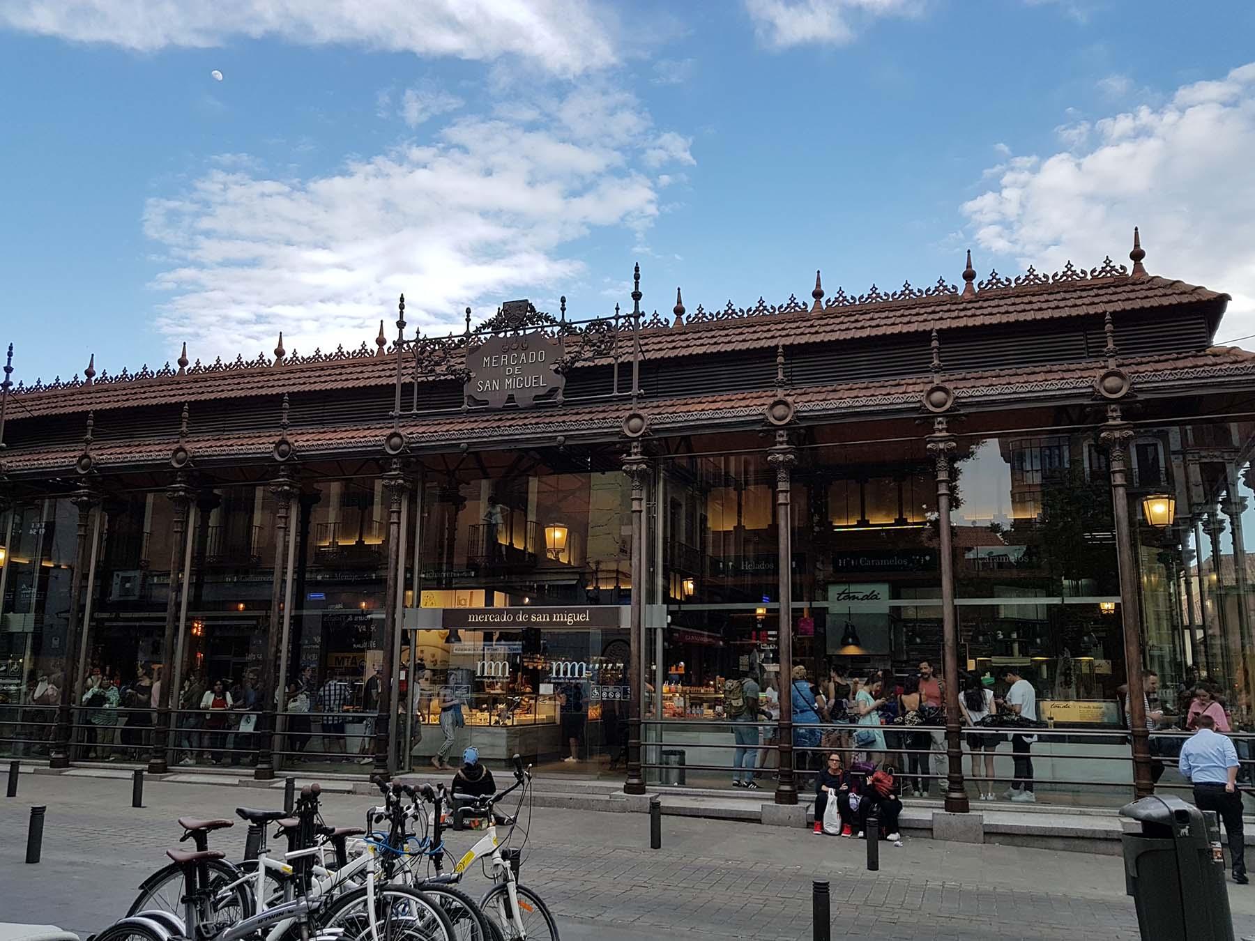 Mercado San Miguel, Madri