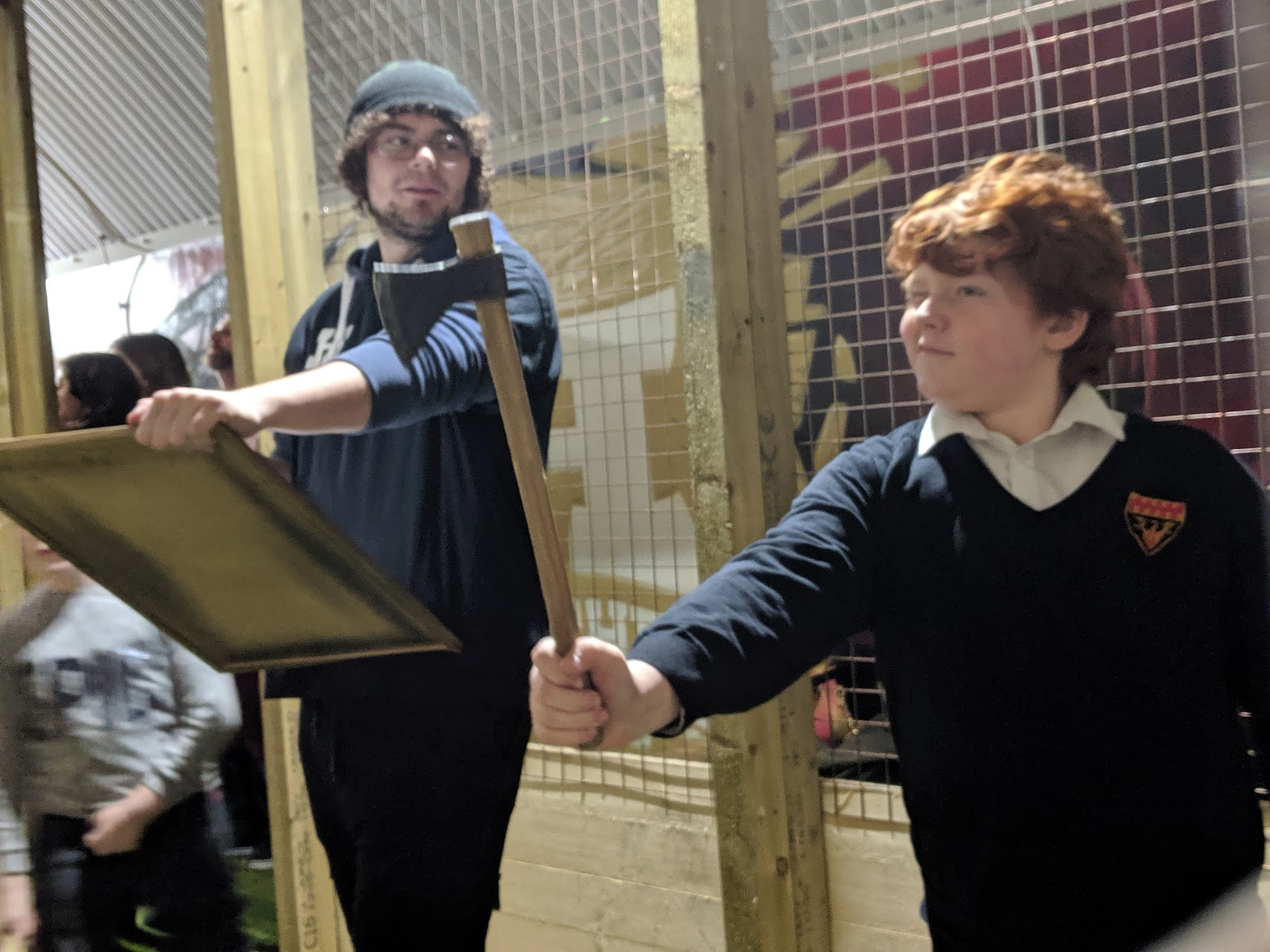 Indoor Axe Throwing in Newcastle at Hatchet Harry's  (Review) - tournament