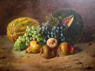 Imagem de uma pintura