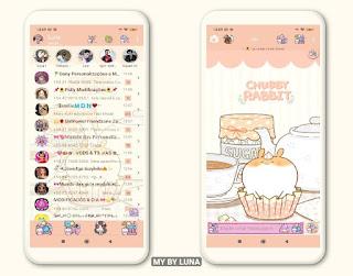 Ice Cream Theme For YOWhatsApp & Fouad WhatsApp By Luna