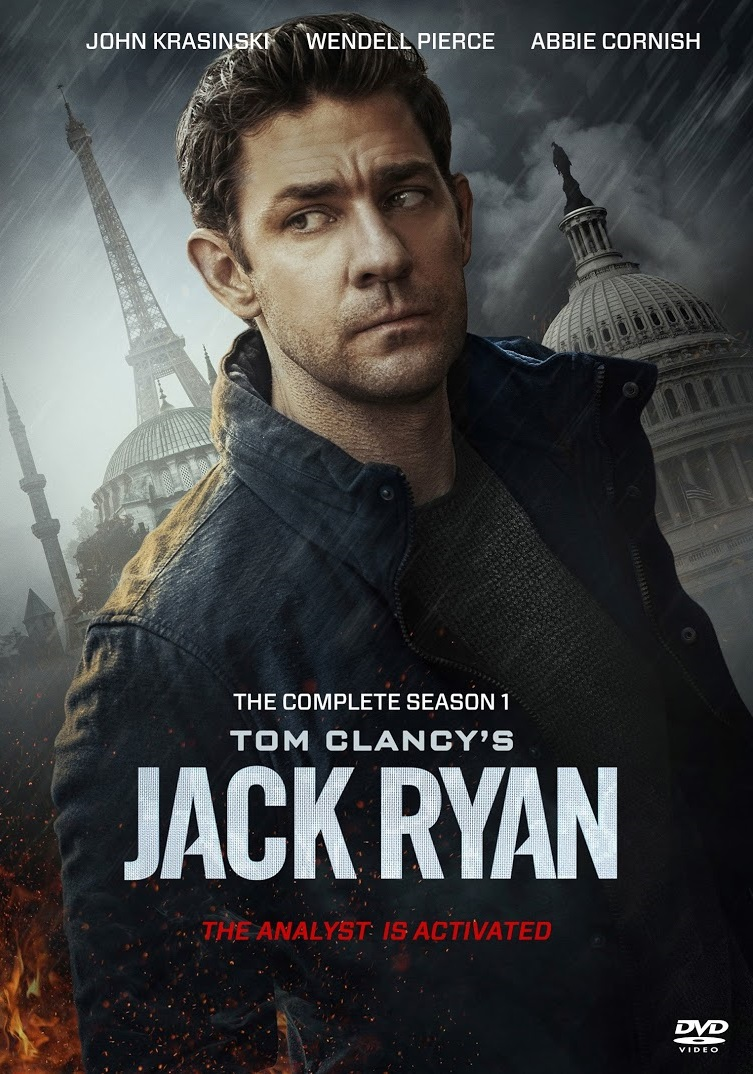 Jack Ryan [Season 1] [2018] [DVDR] [NTSC] [Latino] [3 DISC]