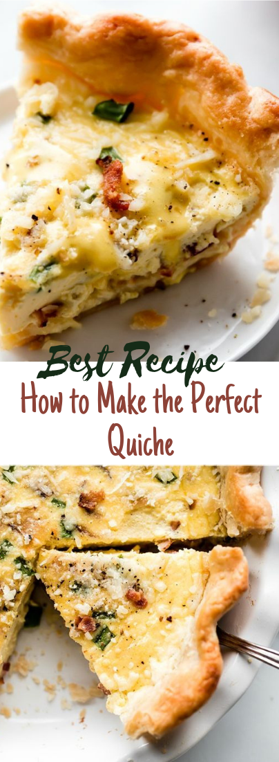 How to Make the Perfect Quiche #healthyfood #dietketo