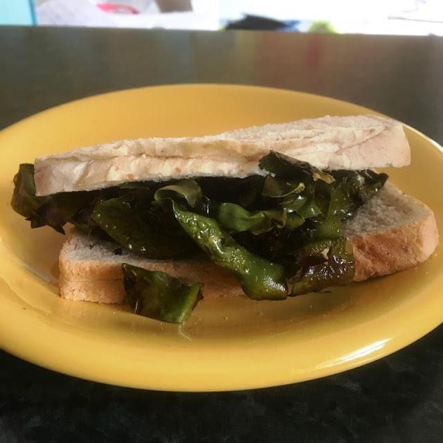 I Sea Bacon - the vegan alternative to Bacon - bacon sarnie