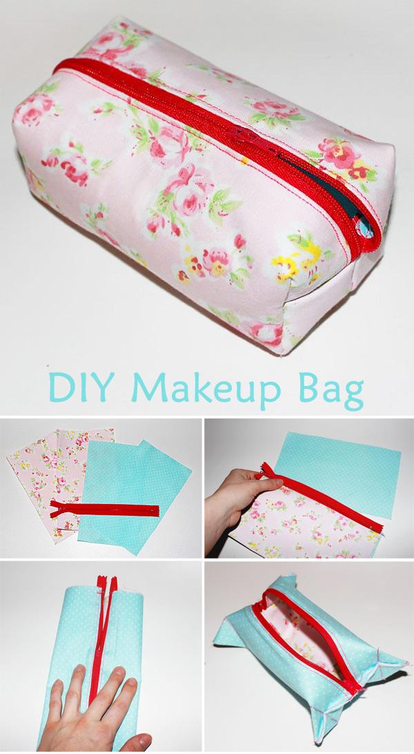 Sewing a Cute DIY Vanity-Bag