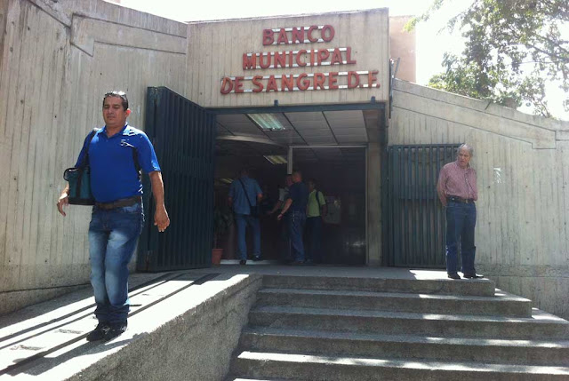 La escasez marca el Día Mundial del Donante de Sangre en el Banco Municipal de Caracas