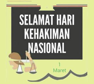 Contoh Pidato Hari Kehakiman Nasional 1 Maret
