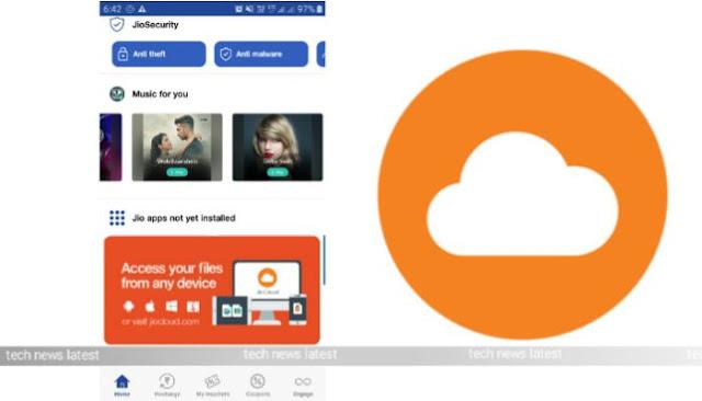 Reliance Jio Latest News My Jio App Update 2019 Jio Cloud