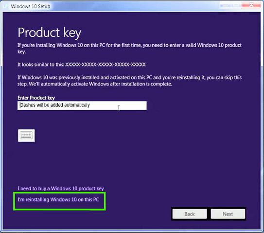 كيفية تثبيت ويندوز 10 بدون إدخال مفتاح المنتج Product Key