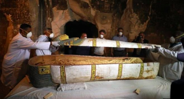 Ancient Egyptian tomb unveiled(photo)
