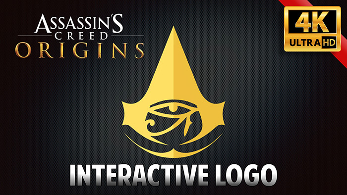 Assassin S Creed Origins Interactive Logo 4k Wallpaper Engine Download Wallpaper Engine Wallpapers Free