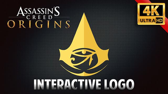 Assassin's Creed Origins Logo Wallpaper Engine