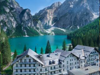 Historisches einzigartiges Hotel Pragser Wildsee