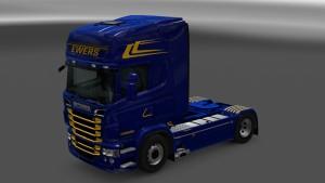 Ewers Skin for Scania RJL