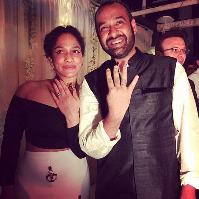 Masaba Gupta and Madhu Mantena: Engagement Highlights | Indian Celebrity  Events