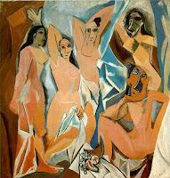Picasso - Las señoritas de Avignon