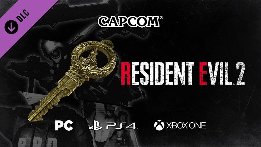 resident evil 2 remake unlock all in game rewards dlc