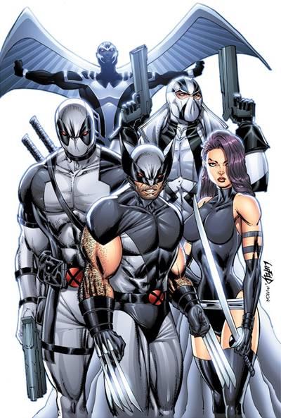 X-Force con Deadpool y Wolverine