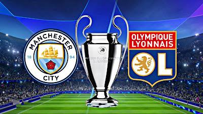 مباراة مانشستر سيتي ضد أولمبيك ليون على الهواتف الذكية Manchester City vs Lyon app