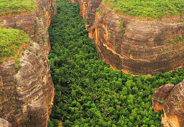 Cânion da Serra Vermelha  - Piauí
