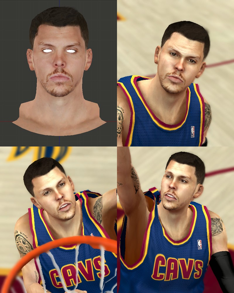 Mike Miller (Short Hair) Cavs 2014-15 NBA2K
