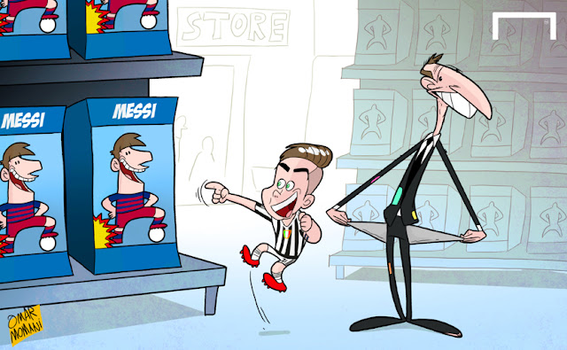Dybala wants to have Messi at Juve and Allegri is poor
