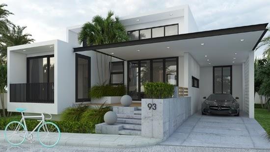 desain rumah 1 lantai 3 kamar