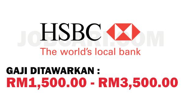 TELLER BANK HSBC KUANTAN