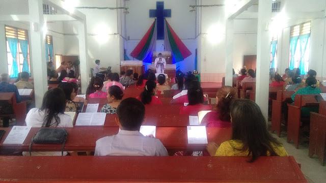 Minggu Agung, Personel Jajaran Kodim 0207/Simalungun Dan Polsek Lakukan PAM Paskah di Gereja HKBP