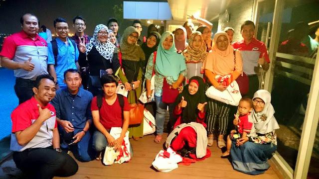 Keakraban JNE dan Blogger Semarang di Acara Kopdar MyJNE Semarang
