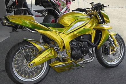 modifikasi motor indonesia