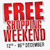 Entry Passes: Flat 100% Cashback on For Free Shopping Weekend