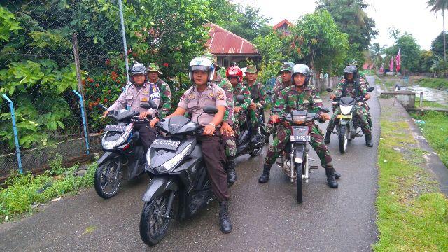 Jelang Milad GAM TNI dan Polri Patroli Bersama