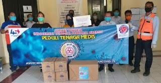 3  Rumah Sakit Dan 4 Puskesmas Mendapat Bantuan Peralatan Medis Dari Serikat Pekerja Indocment Pabrik Cirebon