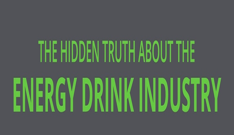 The Hidden Truth About Energy Drinks #infographic