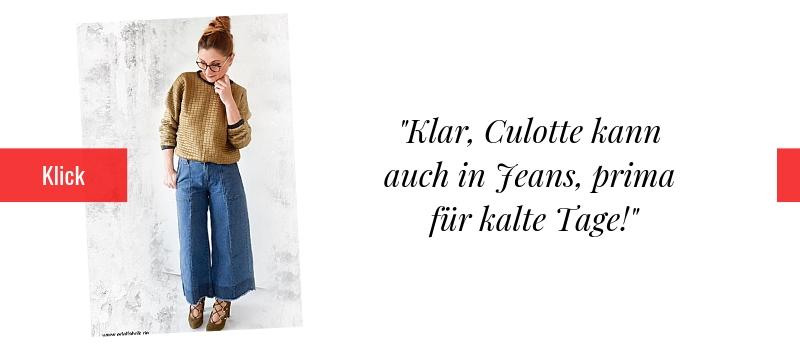 Denim Culotte richtig stylen. Modeblog für Frauen ab 40