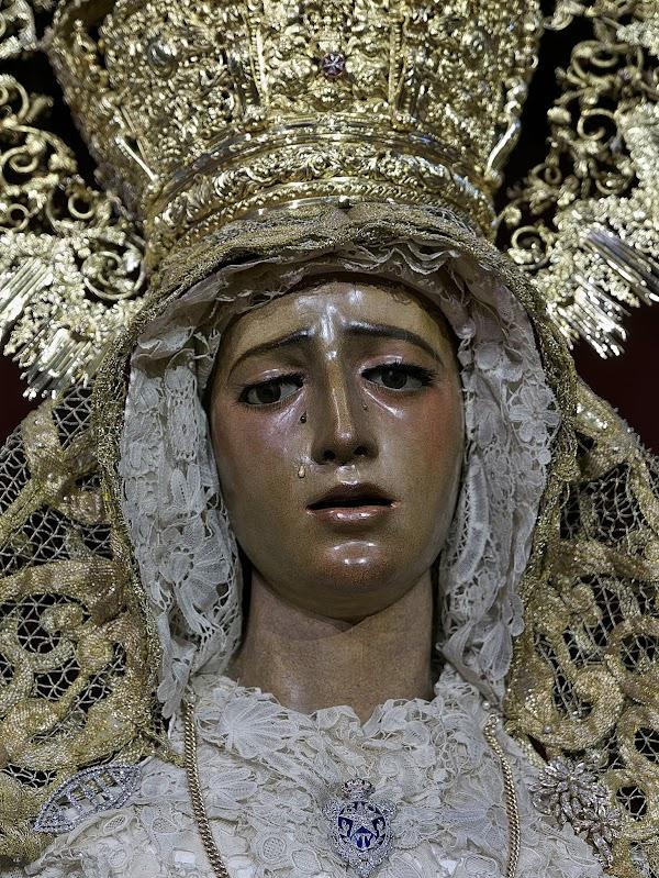 La Virgen de la Amargura de Sevilla regresará el 3 de febrero