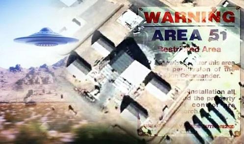 """Google Maps espia 'Nave Alienígena' de 33 Metros de largura nas instalações da """"Área 51"""""""