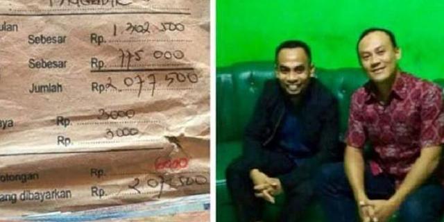 Keteladanan Seorang Guru di Nias, Kembalikan Gaji Polisi yang Ditemukan 11 Tahun Lalu