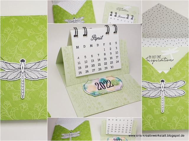 "Jahreskalender ""Kreative Tage"", Mini-Tischkalender Stampin' Up! www.eris-kreativwerkstatt.blogspot.de"