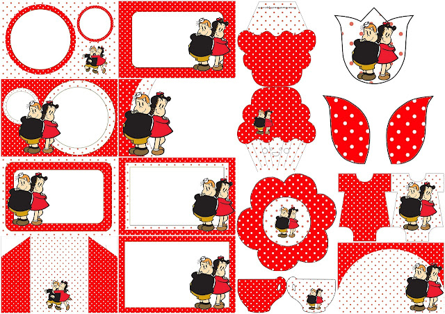 The Little Lulu Show: Free Printable Invitations.