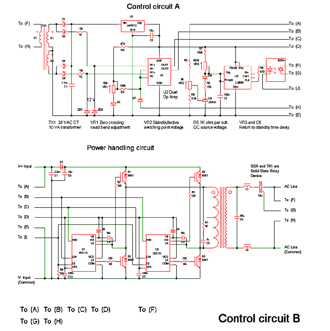 grid tie inverter circuit diagram dual element hot water heater wiring designing a centre