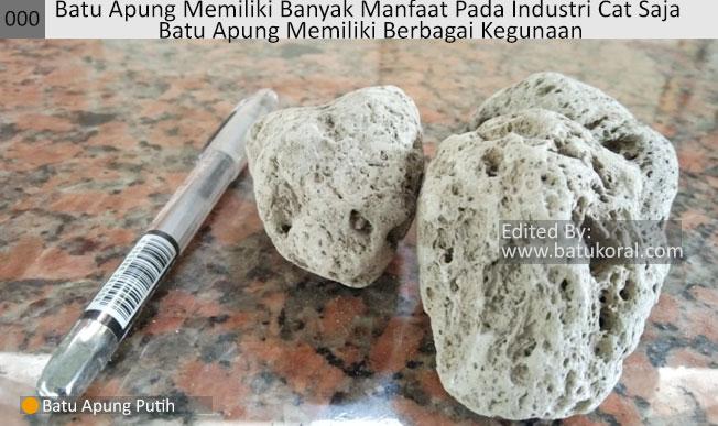 batu apung untuk bahan bata