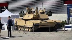 MSPO lần thứ 29 ra mắt xe Tank Abrams với trang bị phòng thủ Trophy APS lần đầu tiên