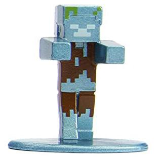 Minecraft Drowned Nano Metalfigs 20-Pack Figure