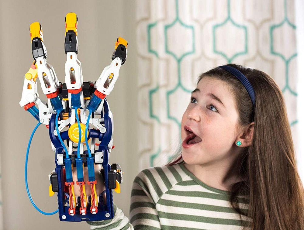 Лучшая S.T.E.M. игрушка 2021 огромная рука киборга