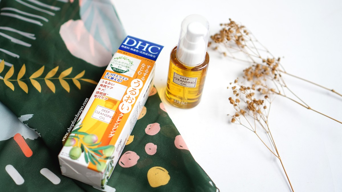 dhc deep cleansing oil review & test indonesia