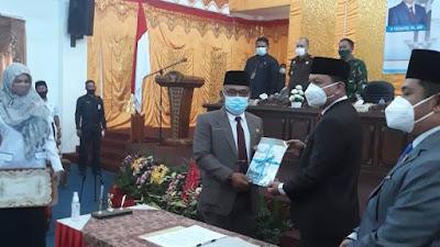 Masa Jabatan H. Yulianto Berakhir,  Yudesri jadi Pelaksana Harian Bupati Pasbar
