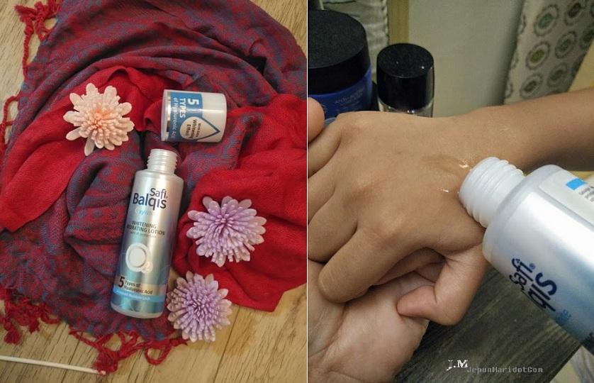 Safi Balqis OxyWhite Whitening Hydration Lotion untuk penyegar & pelembab