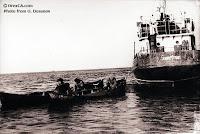 Pesca de altura en el Mar de Aral