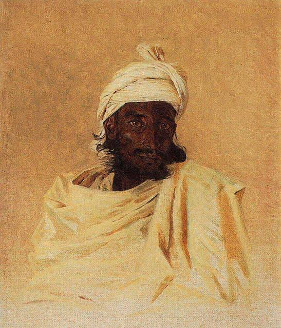 Василий Васильевич Верещагин - Бхил (Бхилы - одно из горных племен Декана). 1874